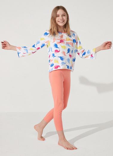 Penti Çok Renkli Teen Whale Ss 2Li Pijama Takımı Renkli